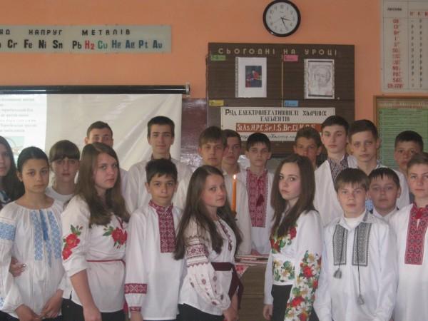 Урок пам'яті Ми пам'ятаємо дзвони Чорнобиля