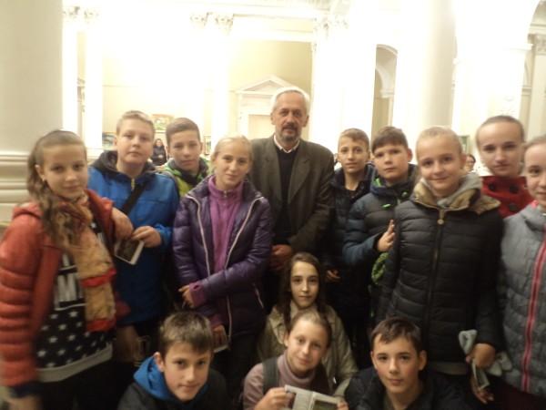 Учні 7-А класу побували  на відкритті виставки в Національному музеї ім. А. Шептицького