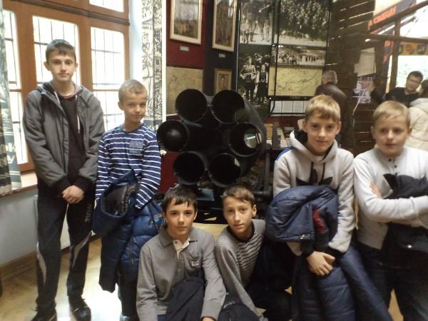 Учні 7-А відвідали музей визвольної боротьби України