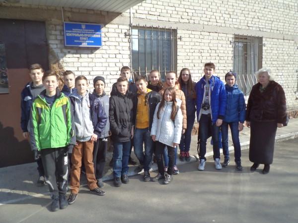 Учні нашої школи відвідали львівську військову частину №3002 ім. Героя України генерал-майора Сергія Кульчицького.