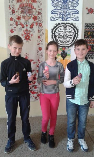 Учні нашої школи відвідали майстер-клас з розпису писанок