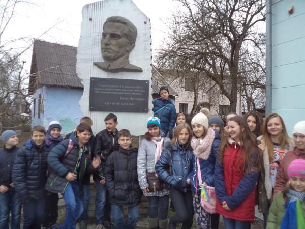 Учні 7-А та 7-В відвідали музей Романа Шухевича в Білогорщі