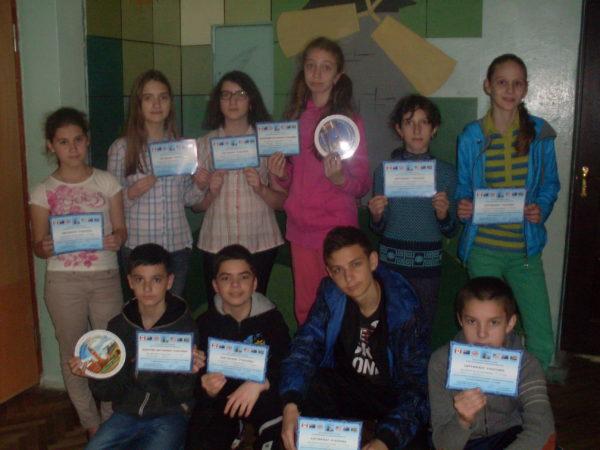 """Учні нашої школи взяли участь у Всеукркаїнському конкурсу """"Гринвіч"""""""