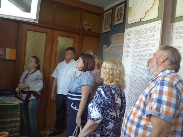 Гості з Естонії відвідали наш шкільний музей