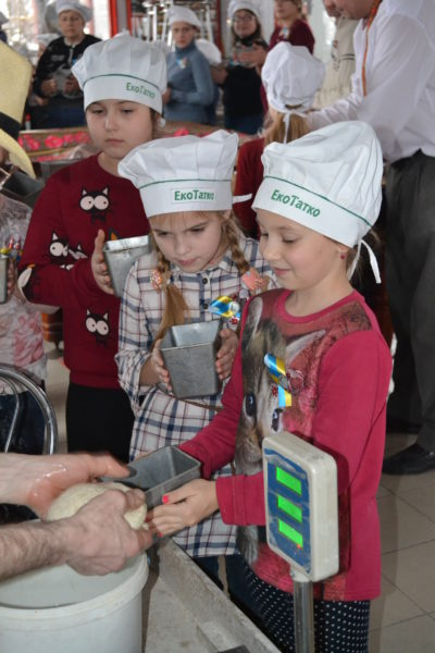 Екскурсія у хлібопекарню в м. Шегині