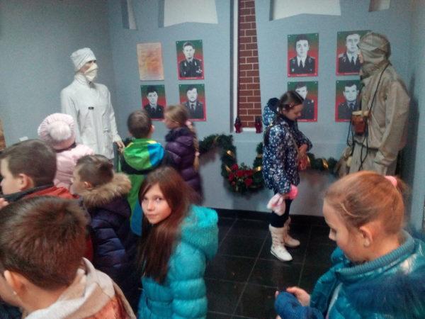 Учні 5 Б відвідали музей пожежної безпеки