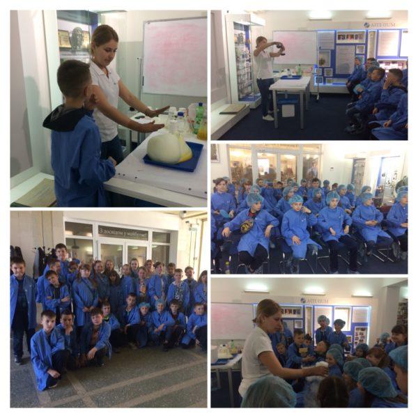 Учні 5 Б класу відвідали музейну експозицію «Галичфарм»