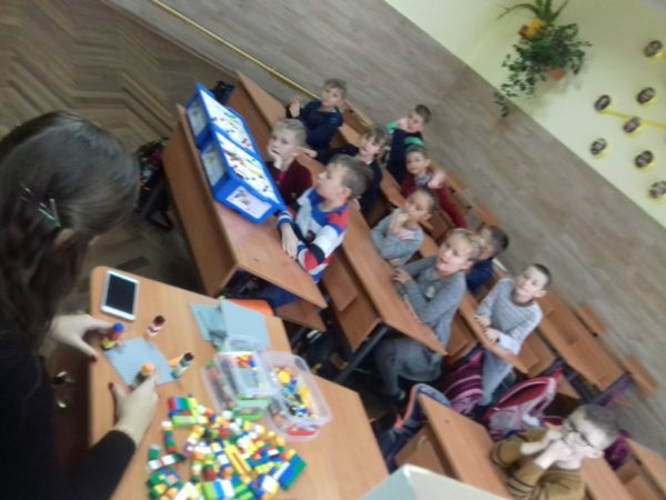Лего – майстер – клас для дітей