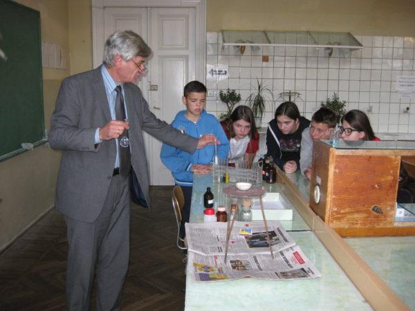 9 А клас взяли участь у практичному заняття в університеті «Львівська Політехніка»