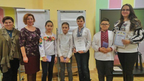 Дипломанти міського конкурсу на кращий фільм-інтерв'ю з учасником АТО