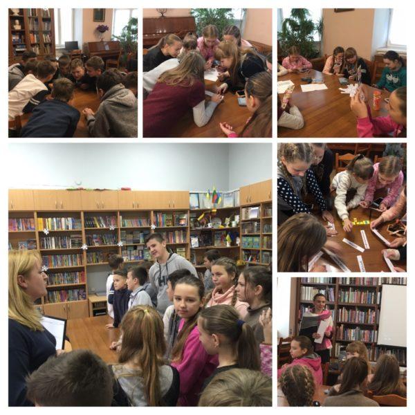 Учні 6-Б класу побували у Львівській обласній бібліотеці для дітей