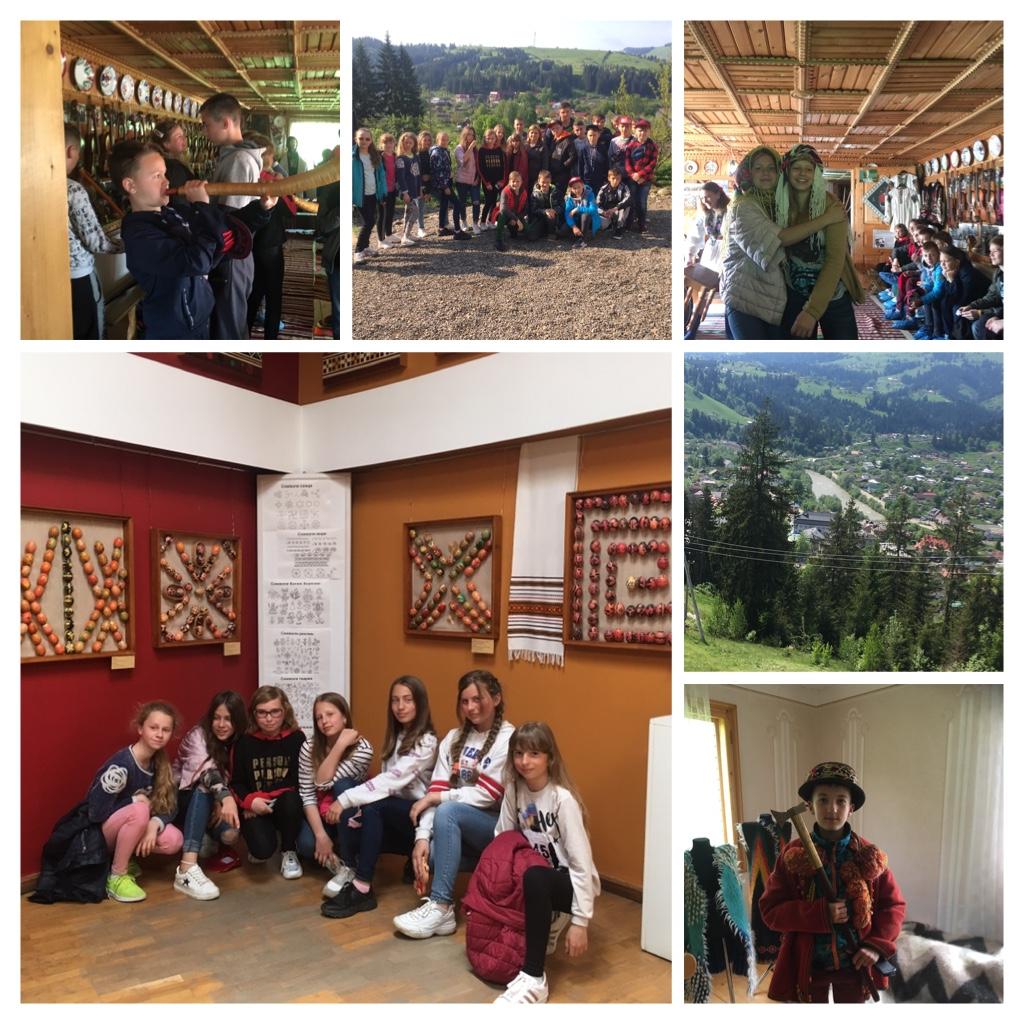 Екскурсія мальовничими Карпатами