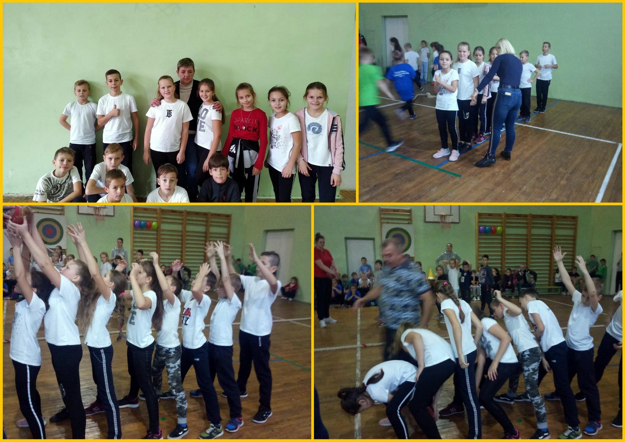 """Всеукраїнський спортивно-масовий захід """"Coolgames"""". Команда учнів школи здобула І місце у Сихівському районі."""