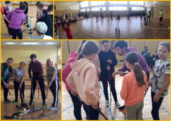 Цікаві та веселі уроки фізкультури!