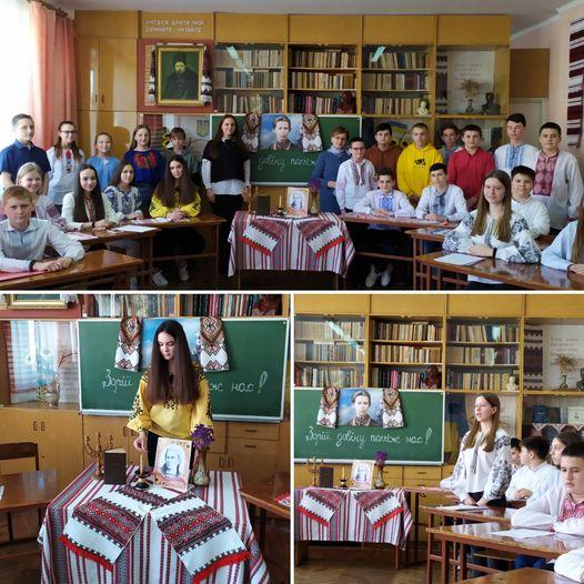 """Літературна мандрівка стежками Лесі Українки """"Зорій довіку поміж нас!"""""""